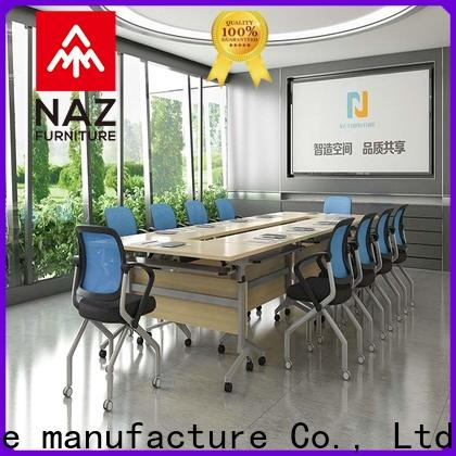 NAZ furniture ft019c conference room table and chairs manufacturer for meeting room