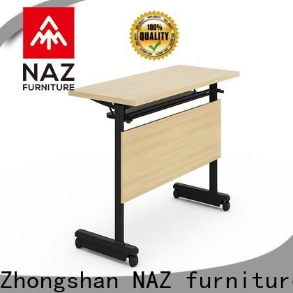 NAZ furniture trapezoid training desk for conference for office