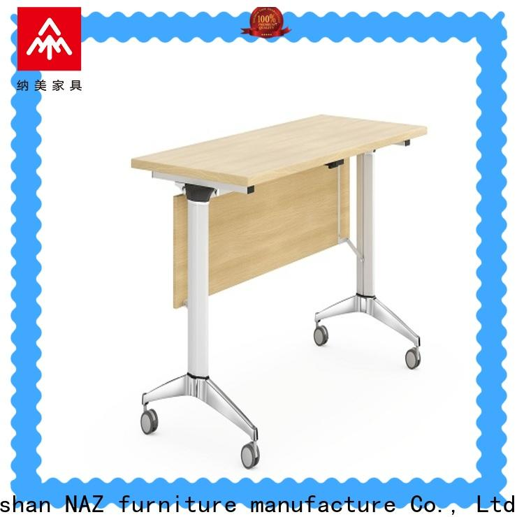 NAZ furniture fahsion office training furniture with wheels for training room