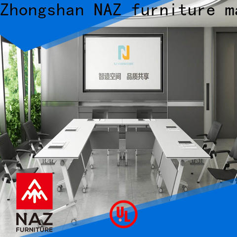 NAZ furniture durable small conference table on wheels for school