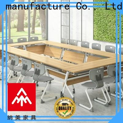 NAZ furniture comfortable folding conference room tables with wheels manufacturer for office