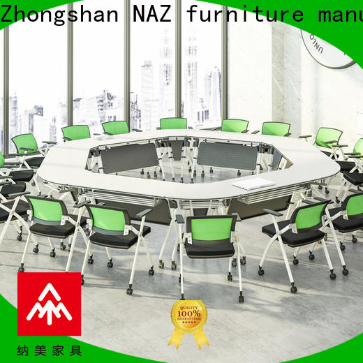 NAZ furniture comfortable conference table on wheels for office