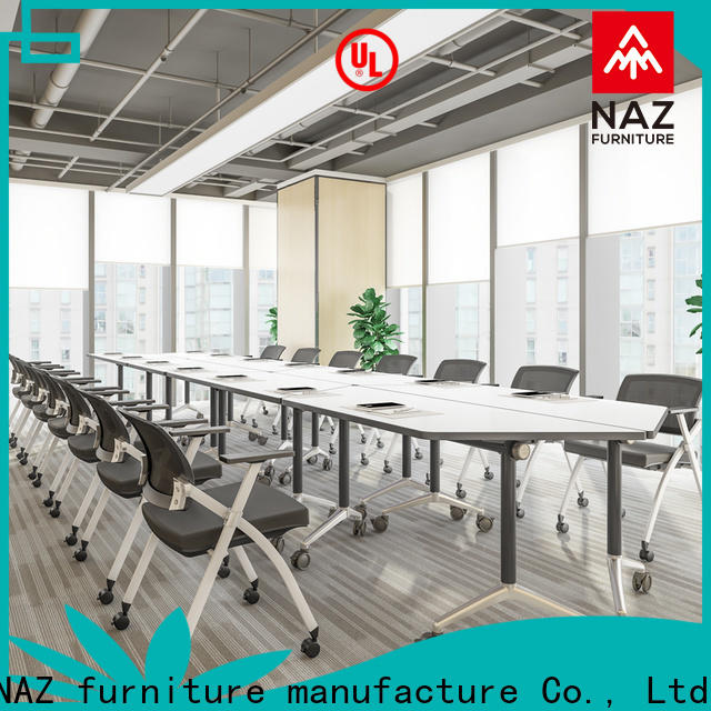 NAZ furniture movable 10 conference table for sale for school