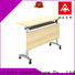 NAZ furniture trapezoid training tables with wheels multi purpose