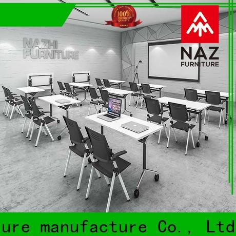NAZ furniture movable flip top conference tables for conference for training room