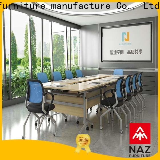 NAZ furniture frame mobile conference table for conference for training room