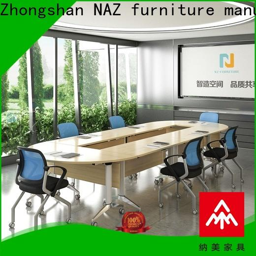 NAZ furniture alloy mobile conference table for sale for office