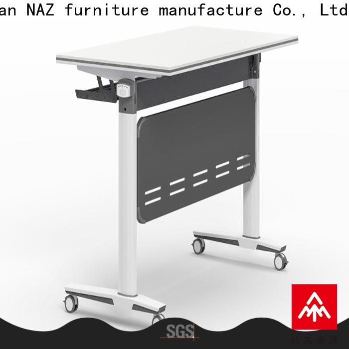 NAZ furniture writing training room tables and chairs for conference for home