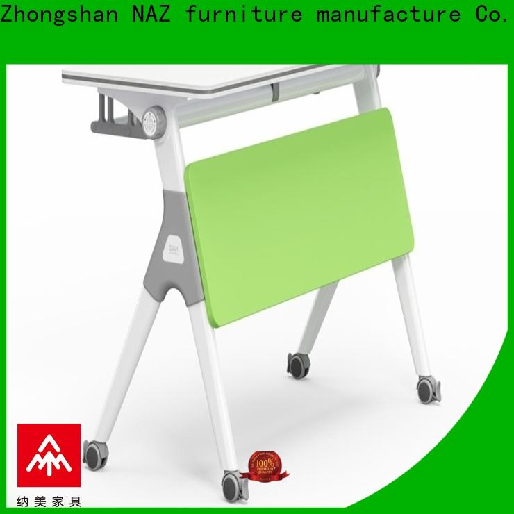 NAZ furniture castors aluminum training table multi purpose for office