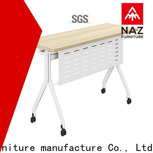 professional modular training room furniture designed with wheels for meeting room