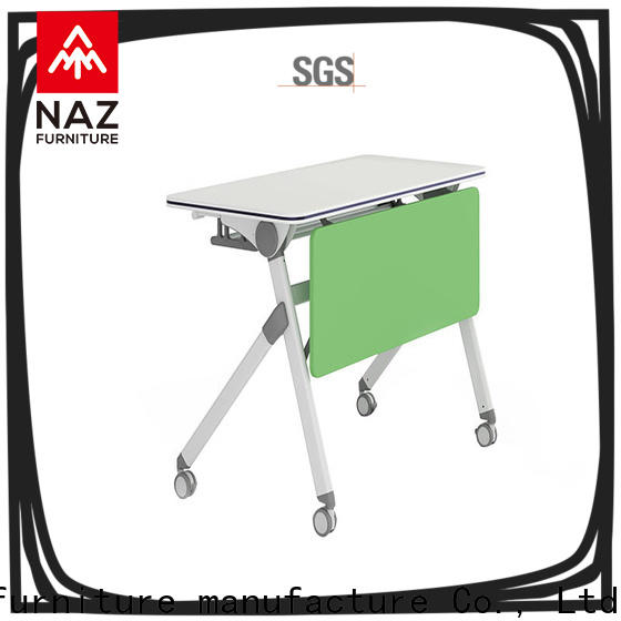 NAZ furniture trapezoid training tables and chairs multi purpose for school