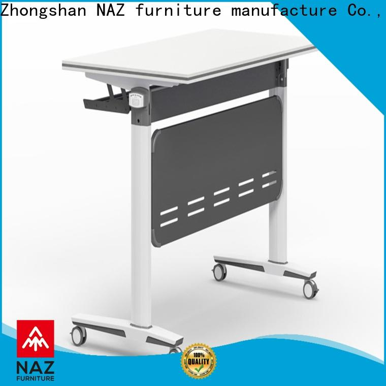 NAZ furniture trapezoid training room tables and chairs for sale for office