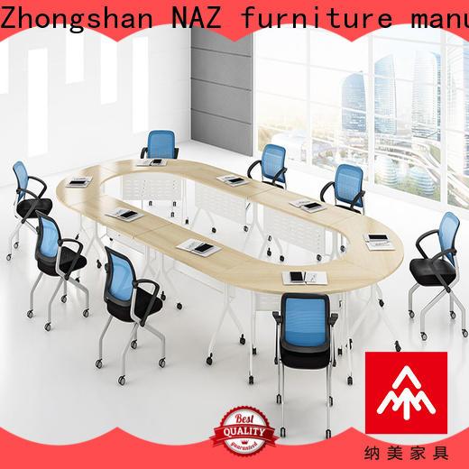 NAZ furniture movable conference room tables manufacturer for school
