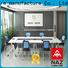 NAZ furniture durable folding conference room tables with wheels for conference for meeting room