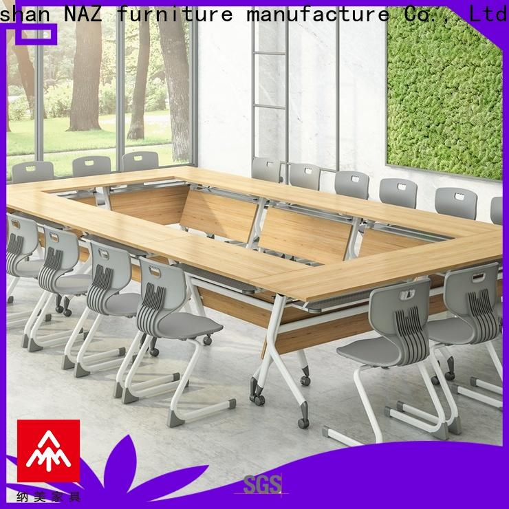 NAZ furniture ft015c u shaped conference table on wheels for meeting room