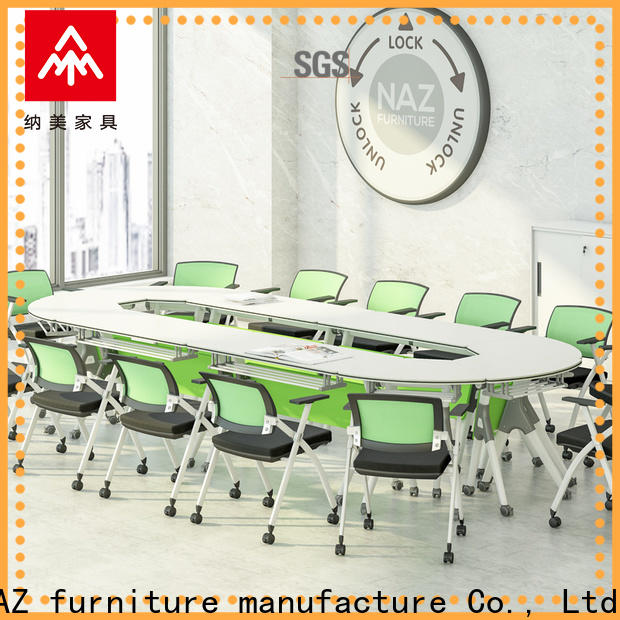 durable folding conference room tables with wheels modular for conference for office