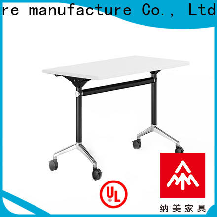 NAZ furniture table training tables with wheels with wheels for school