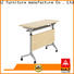 NAZ furniture office aluminum training table with wheels for meeting room