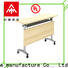 NAZ furniture professional training table with wheels for meeting room