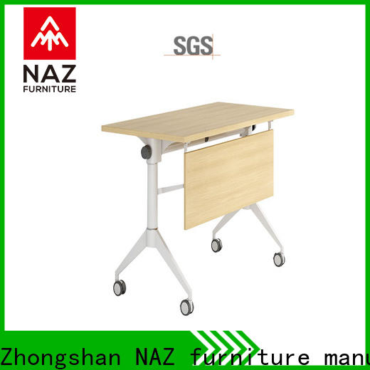 trapezoid training table ft008 for conference for training room