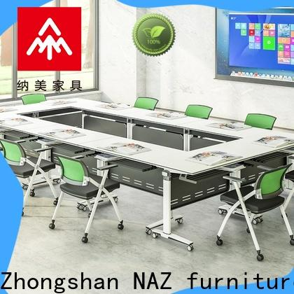 durable conference table modern on wheels for meeting room
