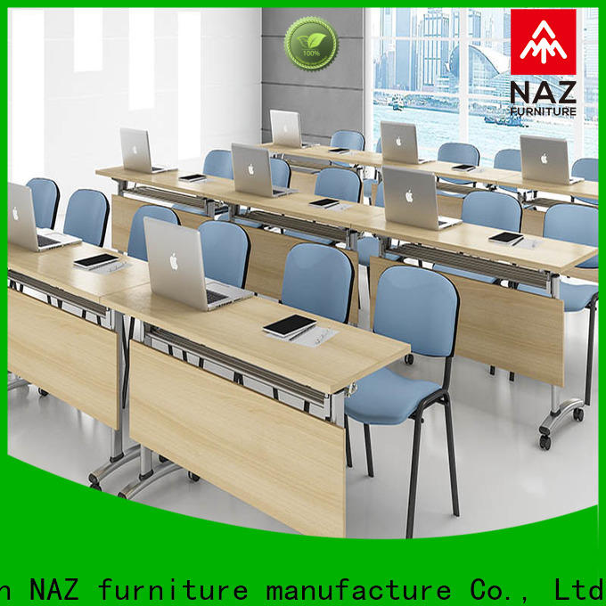 NAZ furniture movable u shaped conference table on wheels
