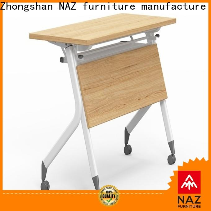 professional training room tables and chairs ft001 with wheels