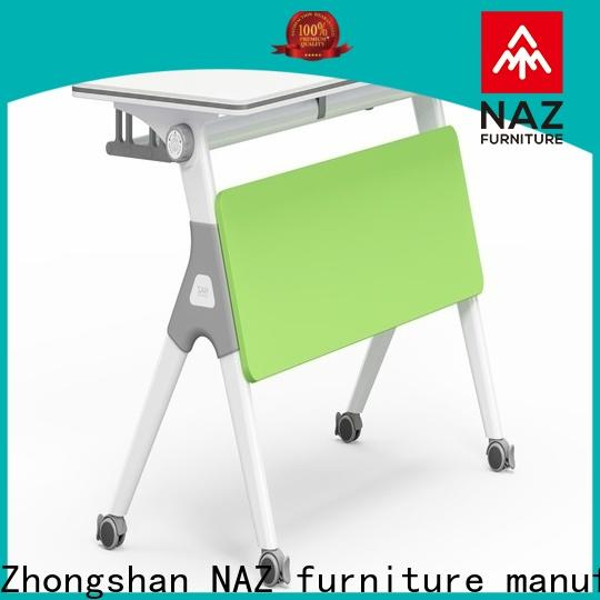 NAZ furniture professional foldable training table for conference for office
