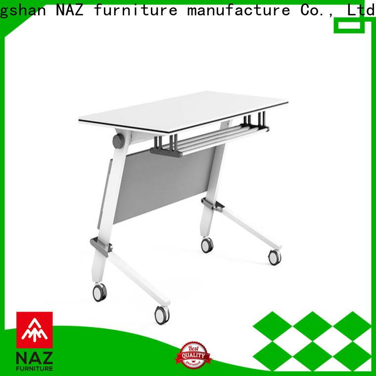 NAZ furniture trapezoid boardroom training table multi purpose for school