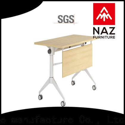 NAZ furniture folding modular training room furniture supply for meeting room