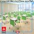 NAZ furniture ft010s classroom training tables on wheels for meeting rooms