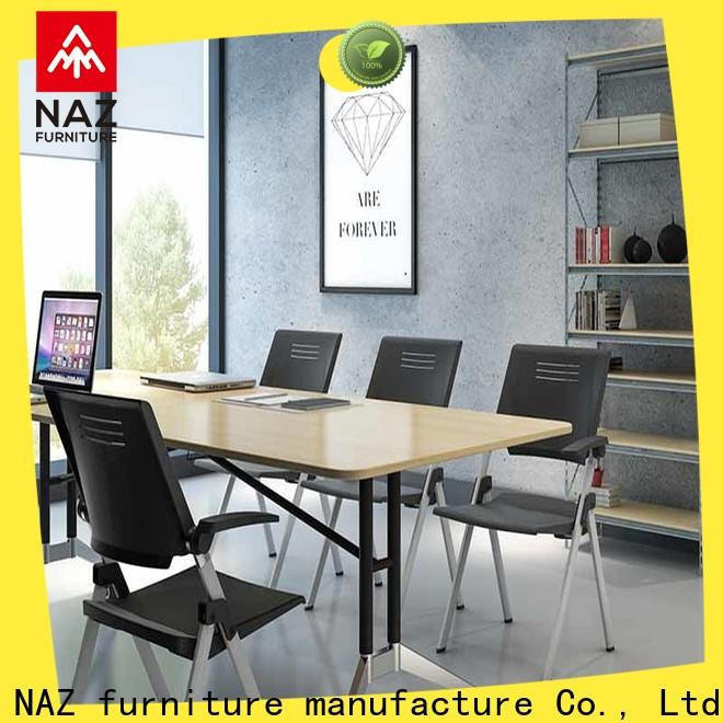 movable white conference table ft001c manufacturer for office