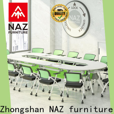 movable square conference table ft015c for conference for training room