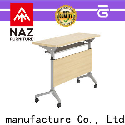 NAZ furniture base training room tables with wheels for school