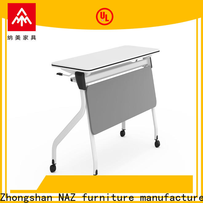 trapezoid modular training room furniture fahsion for sale for office