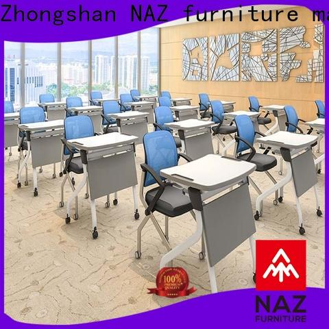 NAZ furniture elegant foldable table with wheels factory for school