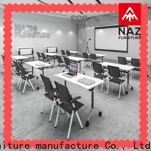 NAZ furniture on office conference room table for sale for training room