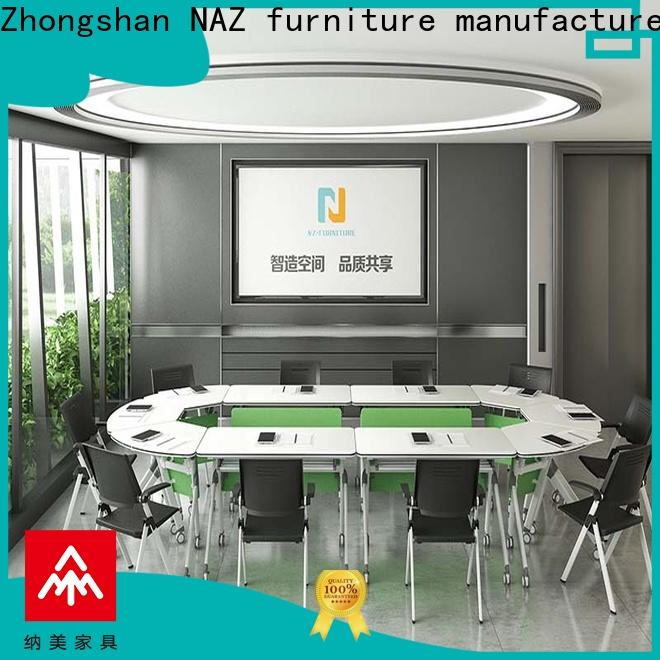 NAZ furniture steel portable conference room tables for conference for training room