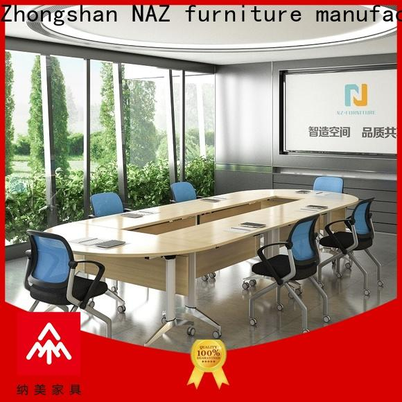 NAZ furniture comfortable 12 person conference table for conference for school