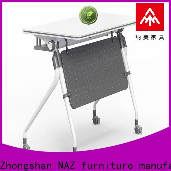NAZ furniture foldable training table supply for home