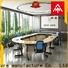 NAZ furniture comfortable modular conference table design on wheels for meeting room