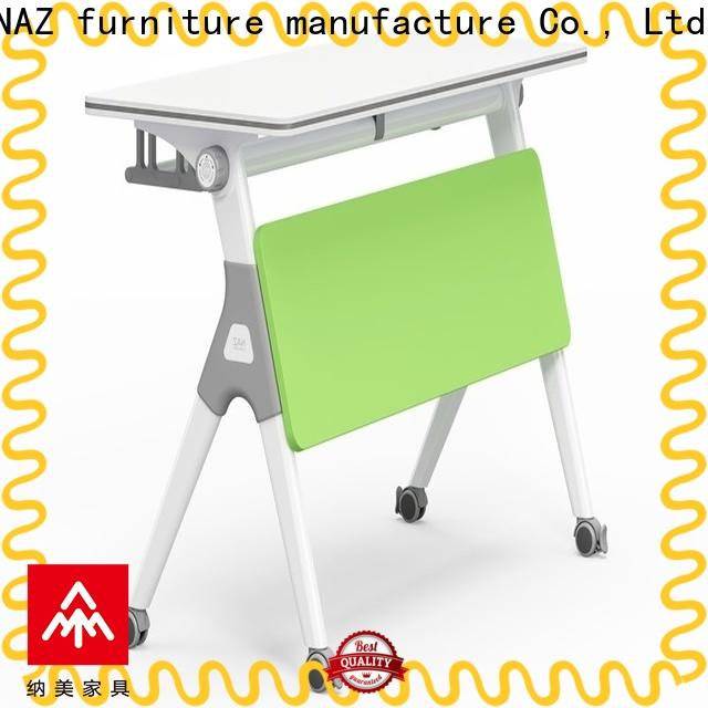 NAZ furniture professional training tables with wheels for sale for meeting room