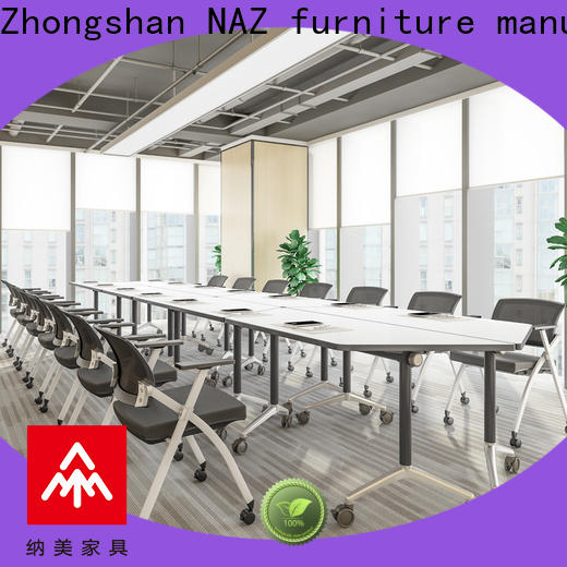 NAZ furniture professional mobile conference table for sale for training room