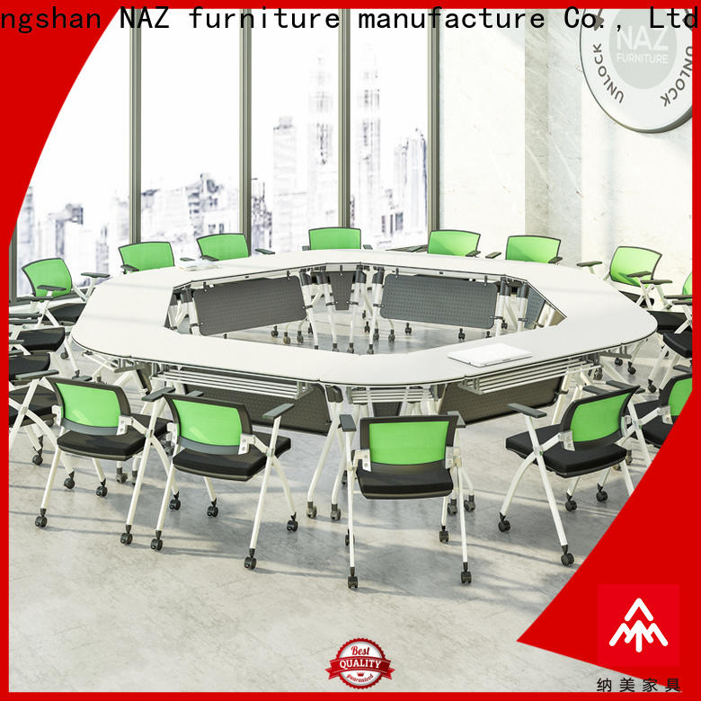 movable modular conference table w20002400d10001200h750mm for sale