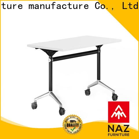 NAZ furniture trapezoid boardroom training table multi purpose for office