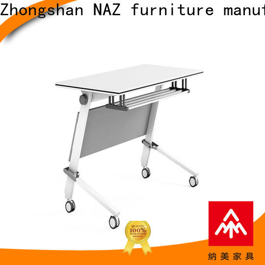 NAZ furniture trapezoid training desk for sale for meeting room