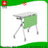 trapezoid training tables with wheels office for conference for home