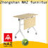 NAZ furniture wooden mobile training tables supply for office