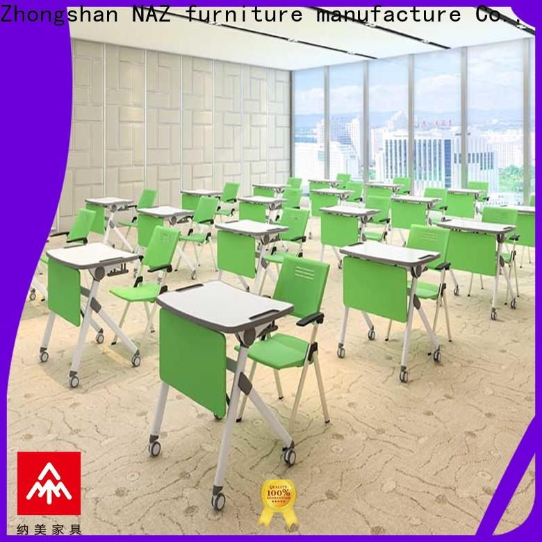 folding fold up study desk furniture wholesale for meeting rooms