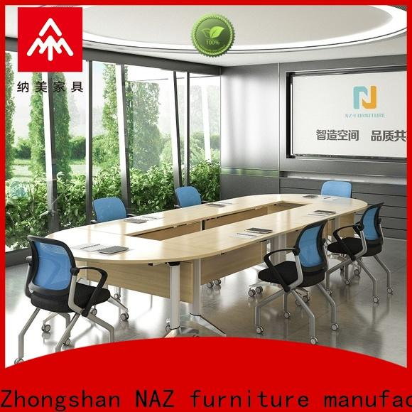NAZ furniture aluminum modular conference table design for conference for office